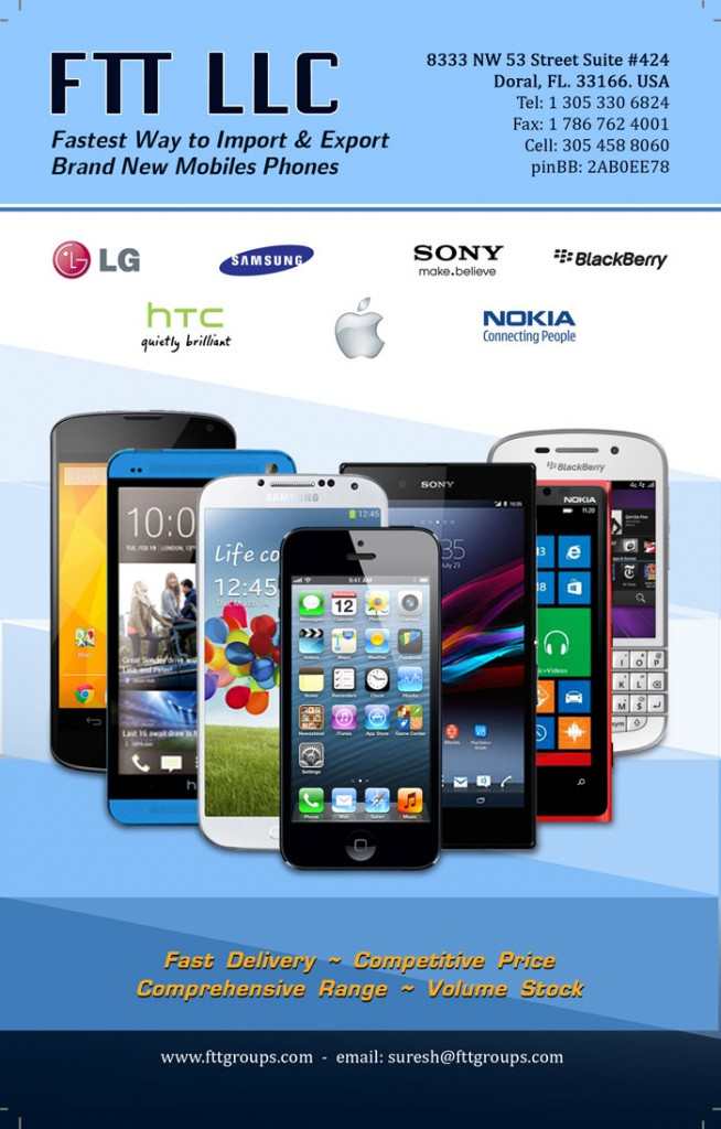 wholesale importer, exporter cell phones