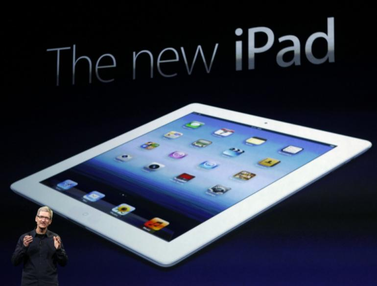 largest ipad display