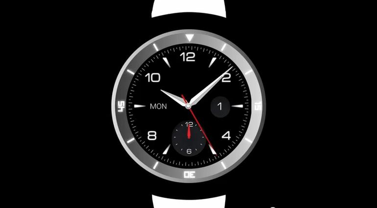 LG G Watch R, Google Android Wearable Device
