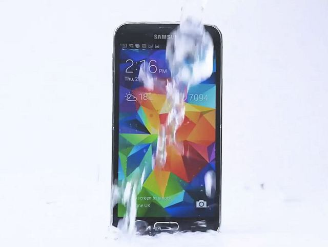 samsung s5 ice bucket challenge video