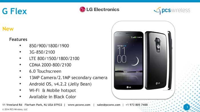 LG G Flex Cell Phones