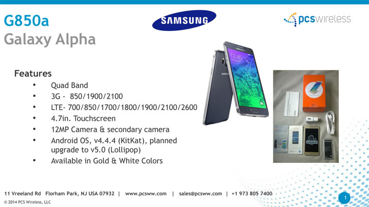wholesale samsung galaxy alpha cell phones