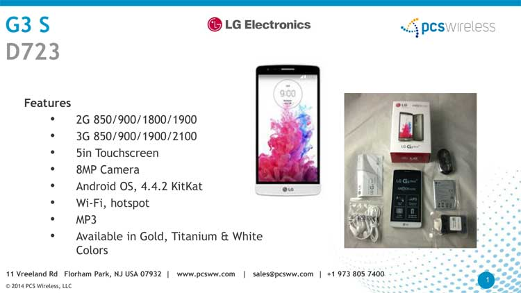 Wholesale lg g3 s cell phones, wholesale distributors of lg g3 s d723