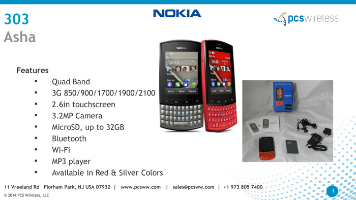 Wholesaler of Nokia cell phones, Nokia asha cell phones