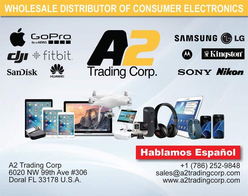 wholesale distributor of consumer electronics