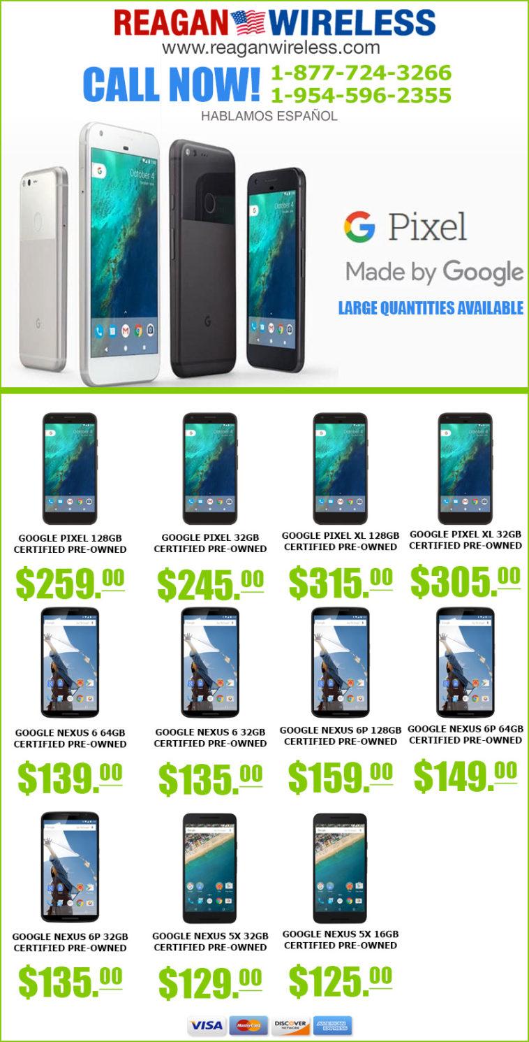 wholesaler of google pixel, nexus