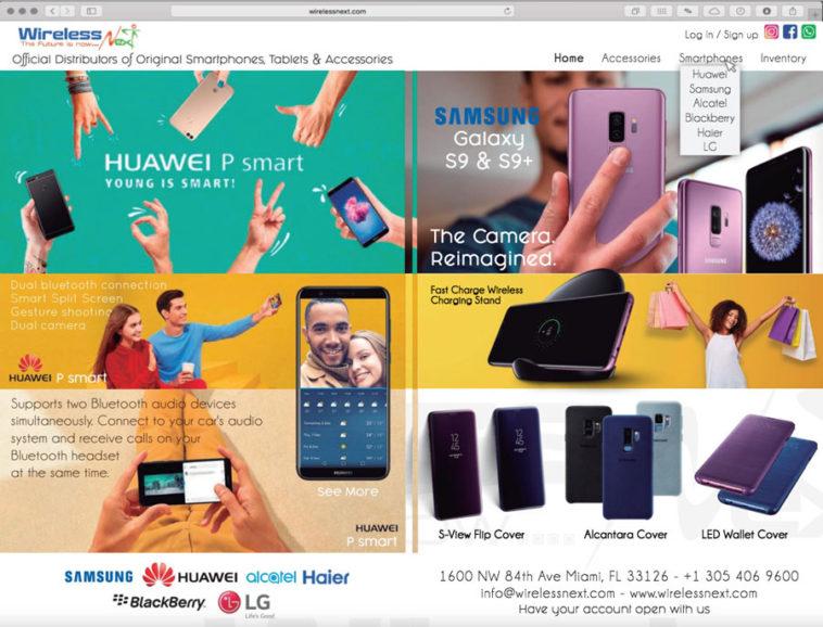 wholesale distributor of smartphones