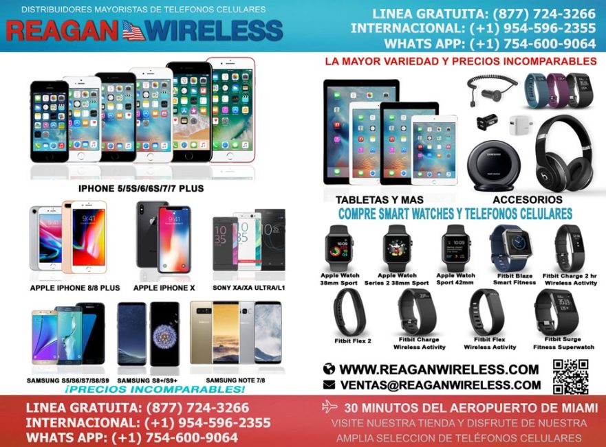 wholesalers of cell phones, accessories for phones, tablets, wearable tech