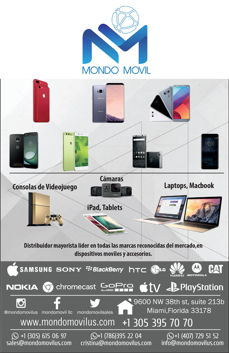 Mondo Movil: Wholesale Distributor of Cell Phones, Cameras, Laptops, Video Game