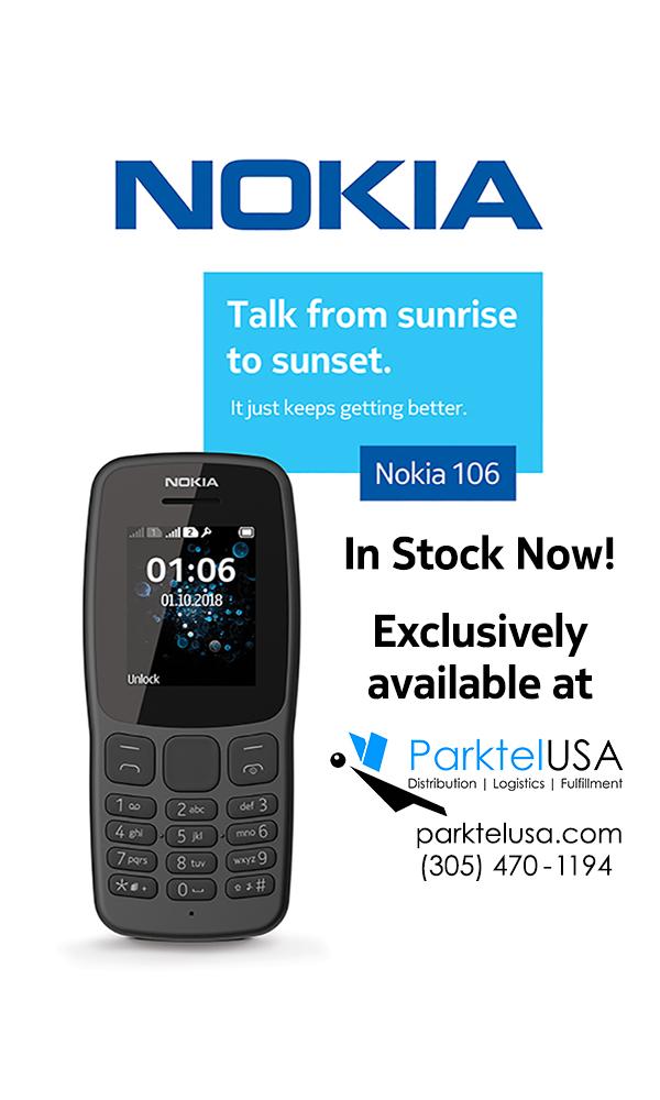 Parktel USA: Nokia 106 Available Now