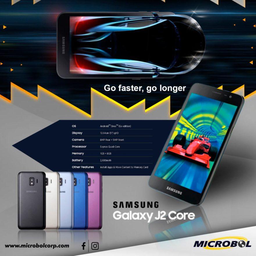 Samsung Galaxy J2 Core wholesaler