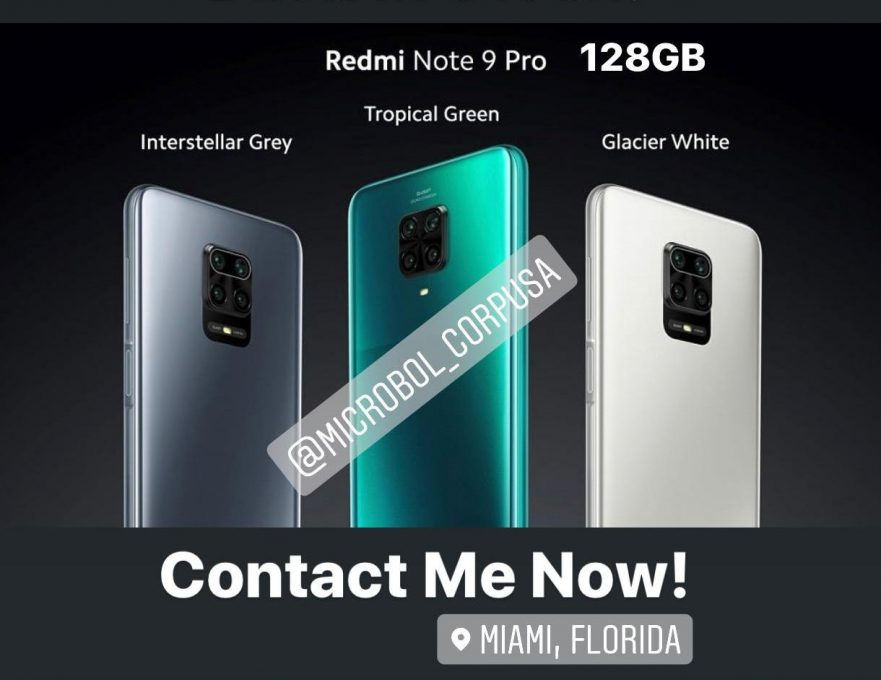 Note 9 Pro 128GB wholesale distributors