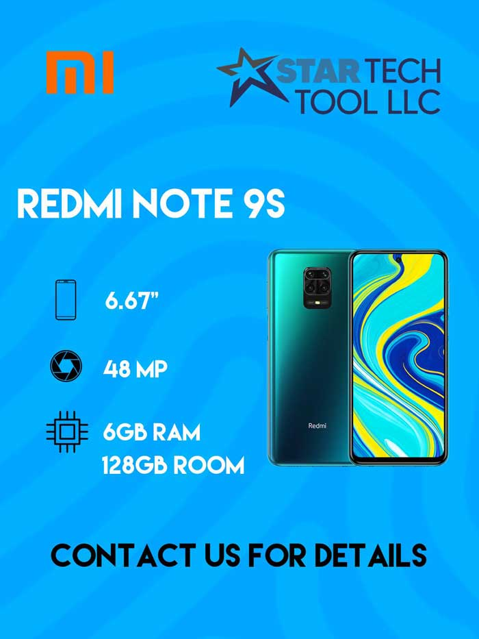 redmi note 9s wholesale phone