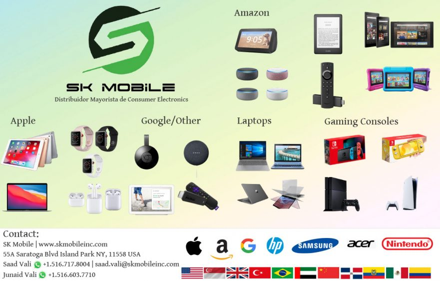 wholesaler in usa, consumer electronics, videogames, cell phones, smartphones