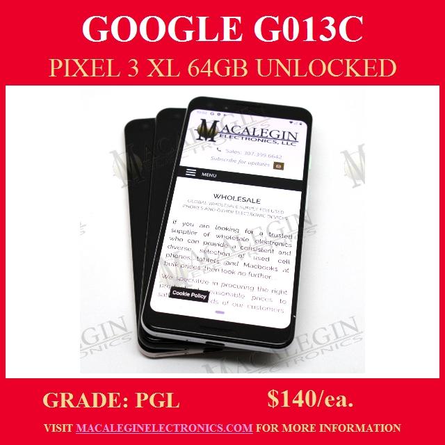 wholesale distributor of google pixel 3 xl